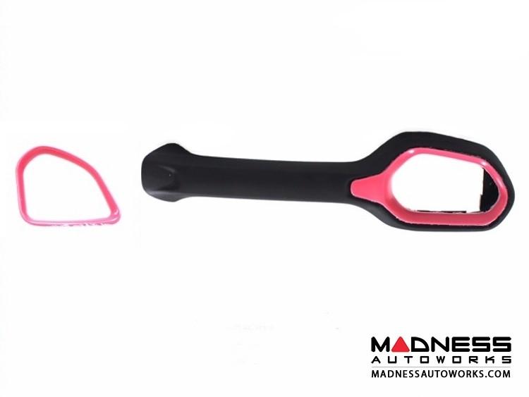Jeep Renegade Vent Trim Kit - Pink - Left Hand Drive
