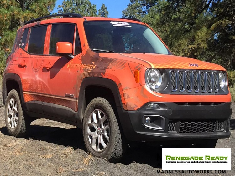 "Lifted Jeep Renegade >> Jeep - Jeep Renegade Lift Kit - 1.5"" - MADNESS Autoworks - Auto Parts and Accessories"
