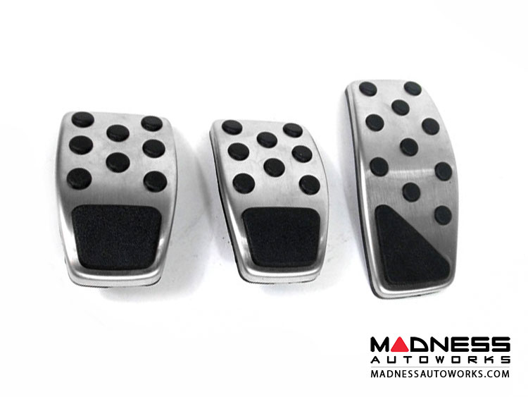Jeep Renegade Pedal Set - Chrome (Manual Transmission)