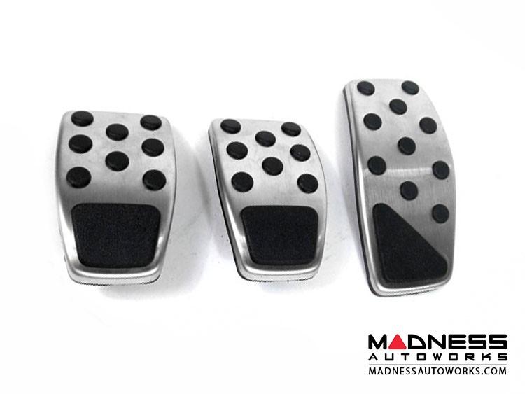 Jeep Renegade Pedal Set - Chrome (Manual Transmission)