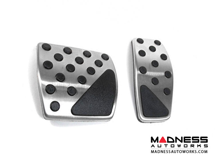 Jeep Renegade Pedal Set - Chrome (Automatic Transmission)