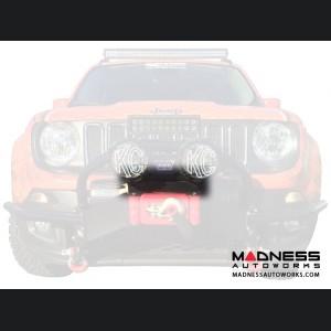 Jeep Renegade Winch Fairlead Light Bracket by Daystar