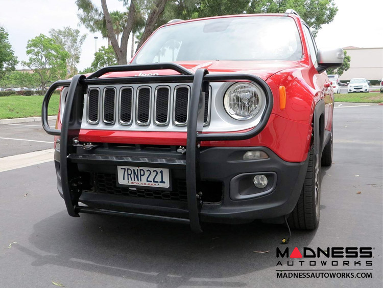 Jeep Renegade Grille Guard by Rugged Ridge - Black