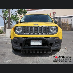 "Jeep Renegade Bull Bar by Rugged Ridge - 2.5"" - Black - Pre-Face Lift Models"