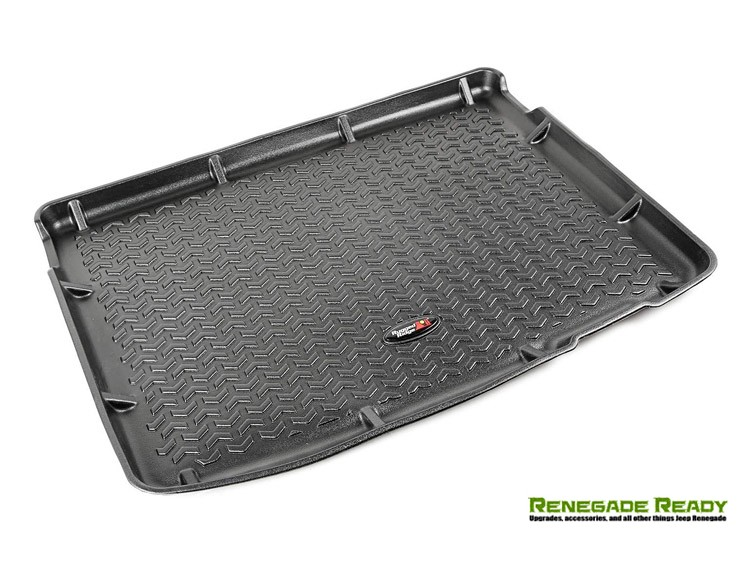 Jeep Renegade Cargo Liner by Rugged Ridge - All Weather - Black