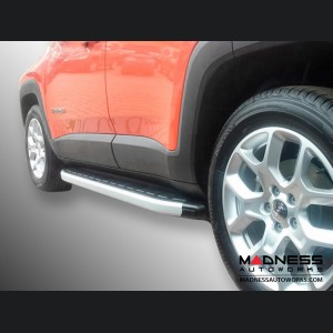 Jeep Renegade Side Steps - Brushed Satin