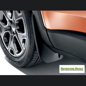 Jeep Renegade Molded Splash Guards (2)  - Front