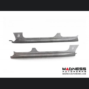 Jeep Wrangler JL Body Armor Rocker Panel - Raw Steel Road Armor - 4 Door