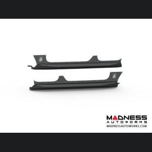 Jeep Wrangler JL Body Armor Rocker Panel - Satin Black Road Armor - 4 Door