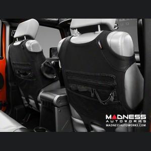 Jeep Wrangler JL Neoprene Front Seat Protectors - Black