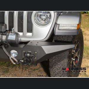 Jeep Wrangler JL Spartan Front Bumper w/ Standard Ends w/o Overrider