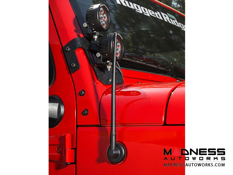 "Jeep Gladiator Reflex Stubby Antenna - 13"""