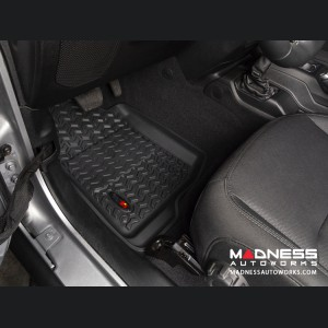 Jeep Wrangler JL All Terrain Floor Liner - Front - Black - Pair