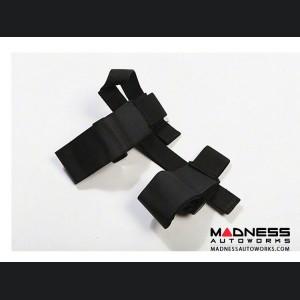 Jeep Wrangler JK Sport Bar Flashlight Holder - Black