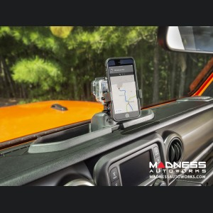 Jeep Wrangler JL Dash Multi-Mount System Kit w/ Phone Holder