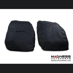 Jeep Wrangler JK Front Door Storage Bag Kit - Black