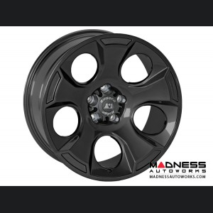"Jeep Wrangler JK Aluminum Drakon Wheel - 18x9"" - Black Satin"