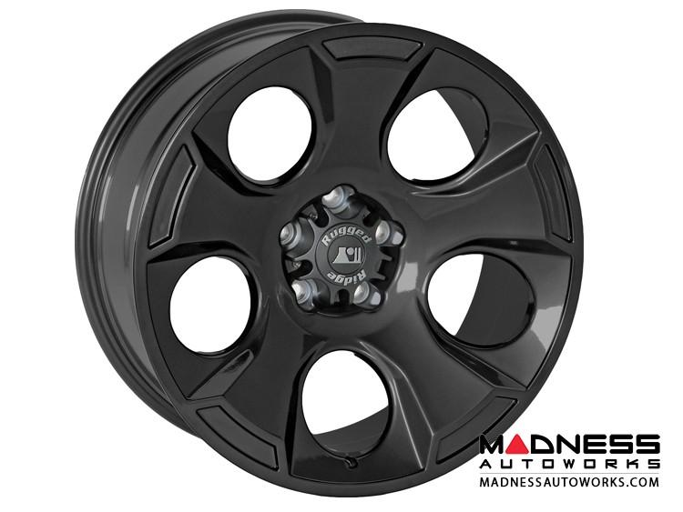 "Jeep Gladiator Aluminum Drakon Wheel - 18x9"" - Black Satin"