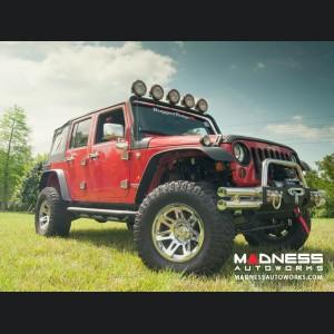 "Jeep Wrangler JL Aluminum XHD Wheel - 17x9"" - Chrome"
