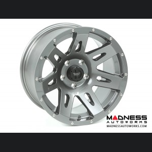 "Jeep Gladiator Aluminum XHD Wheel - 17x9"" - Gun Metal"