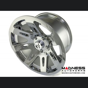 "Jeep Wrangler JK Aluminum XHD Wheel - 17x9"" - Chrome"