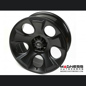 "Jeep Wrangler JK Drakon Wheel - 20x9"" - Black Satin"