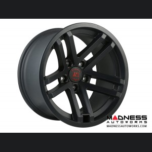"Jeep Gladiator Jesse Spade Wheel - 17x9"" -  Black Satin"