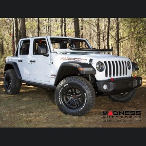 "Jeep Gladiator Jesse Spade Wheel - 17x9"" -  Black Satin"