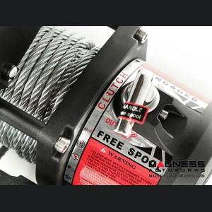 Jeep Wrangler TJ Nautic 12,500 lb. Winch w/ Steel Cable - Waterproof
