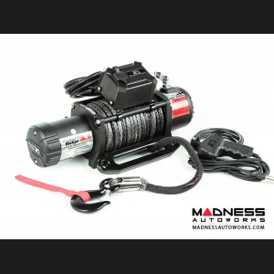 Jeep Wrangler JK Nautic 12,500 lb. Winch w/ Synthetic Rope