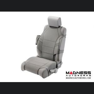 Jeep Wrangler JK Neoprene Front Seat Vests - Gray