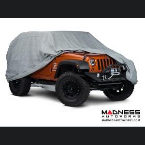 Jeep Wrangler JK Car Cover Kit - 2 Door