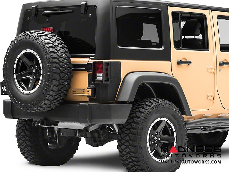Jeep Wrangler JK XHD Rear Corner Guards - 4 Door