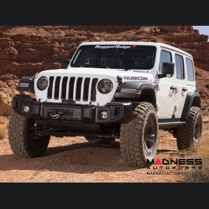 Jeep Wrangler JL Spartacus Bumper w/ Winch Plate - Front - Black