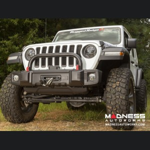 Jeep Wrangler JL Spartacus Overrider Bar - Satin Black