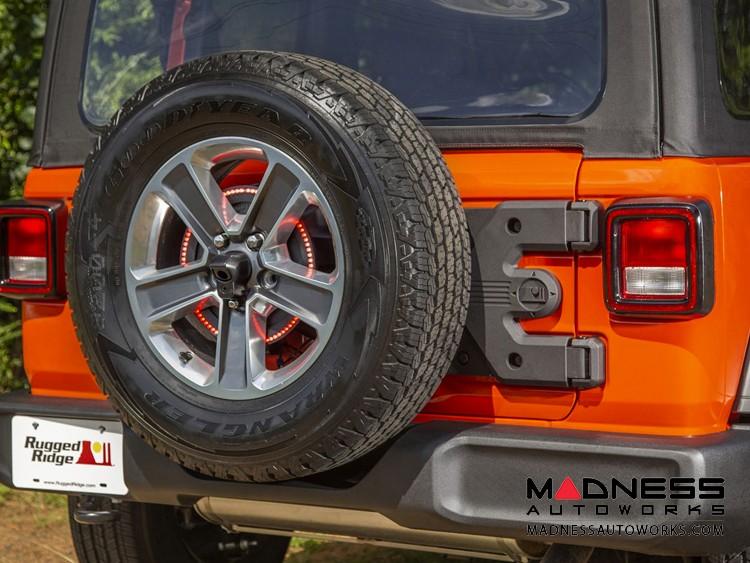 Jeep Wrangler JL Spartacus Hinge Casting w/ Tire Carrier