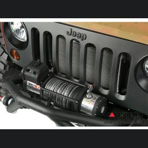 Jeep Wrangler TJ Spartacus Heavy Duty 12,500 lb. Winch w/ Steel Cable