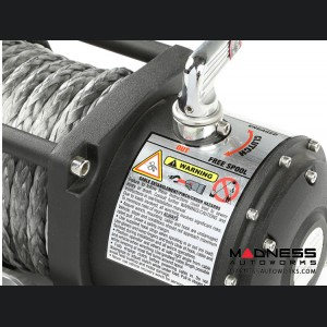 Jeep Wrangler JL Spartacus Performance 10,500 lb. Winch w/ Synthetic Rope