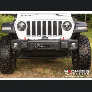 Jeep Wrangler JL Spartacus Stubby Bumper - Black