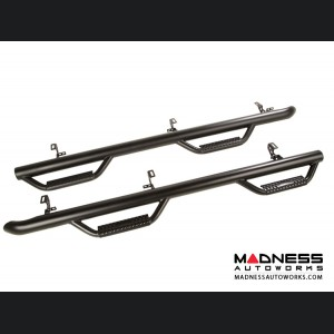 Jeep Wrangler JL Spartan Nerf Bar - Set - Textured Black