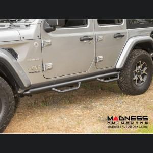 Jeep Wrangler JL Spartan Nerf Bar - Set - Textured Black