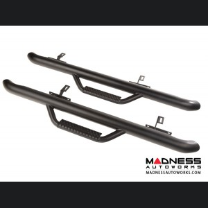 Jeep Wrangler JL Spartan Nerf Bar - Textured Black - 2 Door