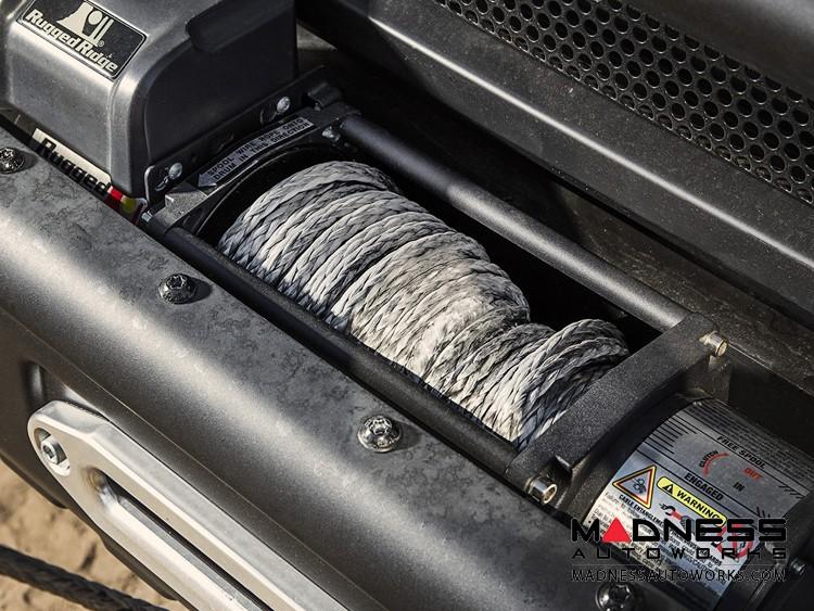 Jeep Wrangler JK Dark Gray Synthetic Winch Line - 19,310 lbs - 25/64 in. x 94 ft.