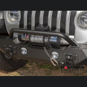 Jeep wrangler JL Spartan Front Bumper w/ Standard Ends & Overrider