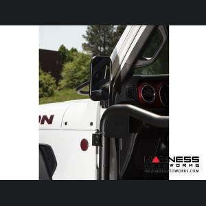 Jeep Wrangler JL Rectangular Trail Mirror - Single