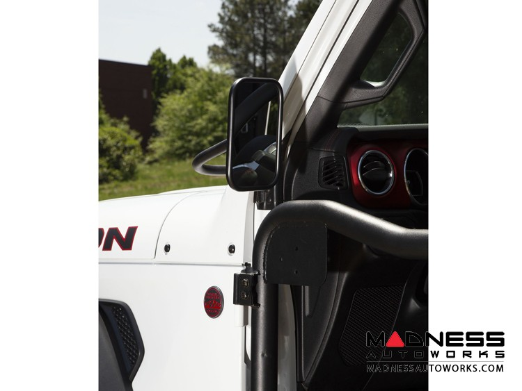 Jeep Gladiator JT Rectangular Trail Mirror - Single