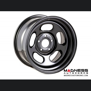 Jeep Wrangler JK Trail Runner Classic Black Steel Wheel w/o Center Cap - 17x9