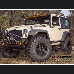 "Jeep Wrangler JK Trail Runner Classic Steel Wheel w/ Center Cap - 17x9"""