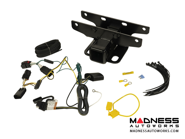 Excellent Jeep Jeep Wrangler Jl Trailer Hitch Kit W Wiring Harness Wiring Cloud Hisonuggs Outletorg