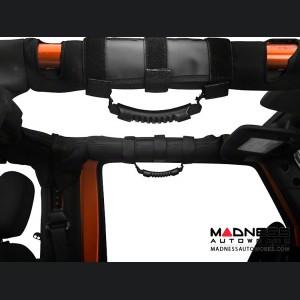 Jeep Wrangler JK Ultimate Grab Handle Kit - Black